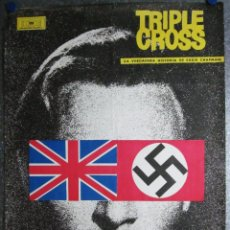Cine: TRIPLE CROSS. LA VERDADERA HISTORIA DE EDDIE CHAPMAN. CHRISTOPHER PLUMMER, ROMY SCHNEIDER. AÑO 1967. Lote 104153147