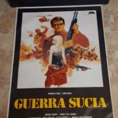 Cine: POSTER ORIGINAL GUERRA SUCIA - JUAN PIQUER SIMON. Lote 104331807