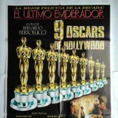 Cine: CARTEL CINE, EL ULTIMO EMPERADOR, BERTOLUCCI , 1988 POSTER ORIGINAL C60. Lote 104829379
