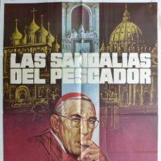 Cine: LAS SANDALIAS DEL PESCADOR - ANTHONY QUINN - AÑOS 70. Lote 104945903