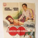 Cine: CARTEL DE PELÍCULA MAURICIO, MON AMOUR, 1976. Lote 104962259