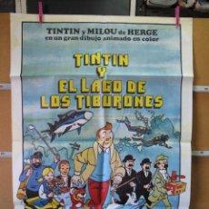 Cine: GND2382 TINTIN Y EL LAGO DE LOS TIBURONES. Lote 105110015