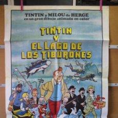 Cine: GND2383 TINTIN Y EL LAGO DE LOS TIBURONES. Lote 105110091