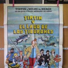 Cine: GND2384 TINTIN Y EL LAGO DE LOS TIBURONES. Lote 105110219