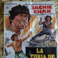Cine: POSTER ORIGINA LA FURIA DE JACKIE. Lote 105115079