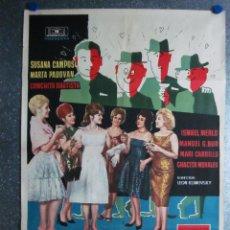 Cine: ESCUELA DE SEDUCTORAS. SUSANA CAMPOS, MARTA PADOVAN, CONCHA VELASCO,ISMAEL MERLO,MARI CARRILLO 1962. Lote 105168207