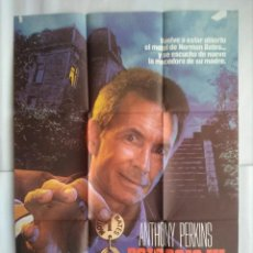 Cine: CARTEL CINE, PSICOSIS III, ANTHONY PERKINS, POSTER ORIGINAL C-93. Lote 105230343