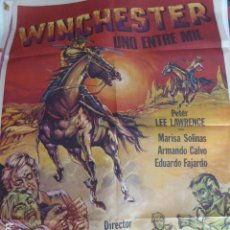Cine: CARTEL DE CINE- MOVIE POSTER. WINCHESTER, UNO ENTRE MIL. 1978. Lote 105351871