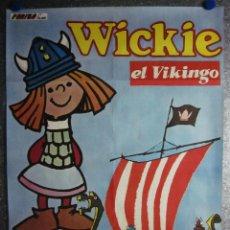 Cine: WICKIE EL VIKINGO. AÑO 1976. Lote 105421187