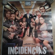 Cine: INCIDENCIAS - APROX 70X100 CARTEL ORIGINAL CINE (L52). Lote 105635015