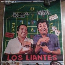 Cine: LOS LIANTES - APROX 70X100 CARTEL ORIGINAL CINE (L52). Lote 191220225