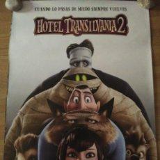 Cine: HOTEL TRANSILVANIA 2 V2 - APROX 70X100 CARTEL ORIGINAL CINE (L52). Lote 105700079