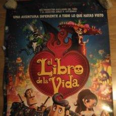 Cine: EL LIBRO DE LA VIDA - APROX 70X100 CARTEL ORIGINAL CINE (L52). Lote 105743947