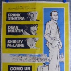 Cine: COMO UN TORRENTE - FRANK SINATRA, DEAN MARTIN, SHIRLEY MACLAINE - AÑO 1972. Lote 105805067