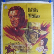 Cine: ALVAREZ KELLY - WILLIAM HOLDEN, RICHARD WIDMARK - AÑO 1966. Lote 105821795