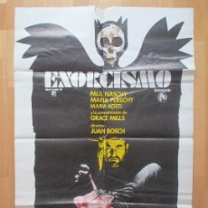 Cine: CARTEL CINE, EXORCISMO, PAUL NASCHY, 1975, C1213. Lote 105970071