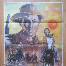Cine: CARTEL CINE, DUELO AL SOL, GREGORY PECK, JENNIFER JONES, 1982, RAUL, C1225. Lote 105988031