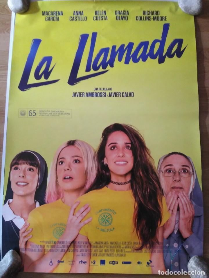 LA LLAMADA - APROX 70X100 CARTEL ORIGINAL CINE (L53) (Cine - Posters y Carteles - Clasico Español)