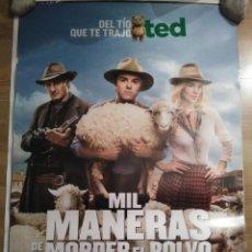 Cine: MIL MANERAS DE MORDER EL POLVO - APROX 70X100 CARTEL ORIGINAL CINE (L53). Lote 106104987