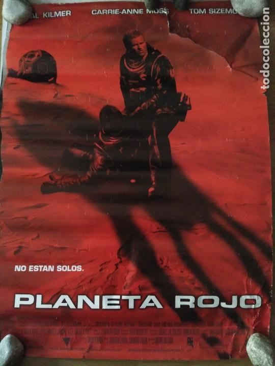 PLANETA ROJO - APROX 70X100 CARTEL ORIGINAL CINE (L53) (Cine - Posters y Carteles - Terror)
