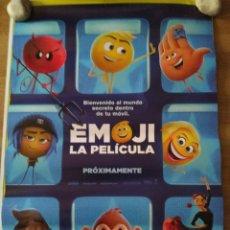 Cine: EMOJI, LA PELICULA - APROX 70X100 CARTEL ORIGINAL CINE (L53). Lote 106952559