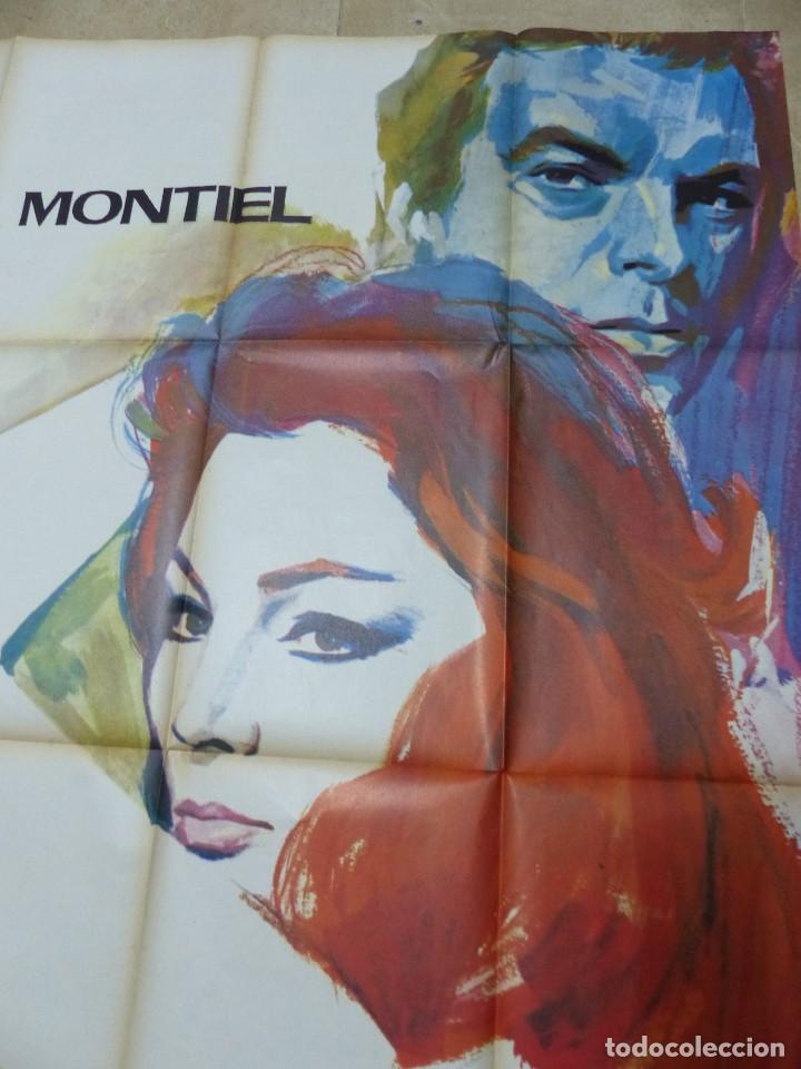 Cine: LA MUJER PERDIDA, LA FEMME PERDUE - SARA MONTIEL - CARTEL GRANDE FRANCES - AÑO 1966 - Foto 5 - 107015207