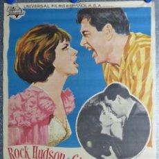 Cine: HABITACION PARA DOS - ROCK HUDSON, GINA LOLLOBRIGIDA - AÑO 1966, ALBERICIO. Lote 107022367