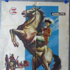 Cine: EL PEQUEÑO CORONEL - JOSELITO - AÑO 1960. Lote 107061071