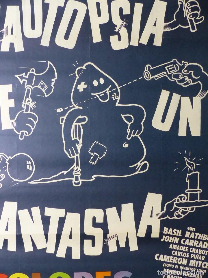 Cine: AUTOPSIA DE UN FANTASMA - BASIL RATHBONE, JOHN CARRADINE, AMADEE CHABOT - AÑO 1968 - Foto 6 - 107223643