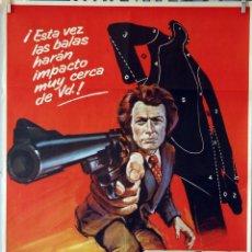 Cine: HARRY EL FUERTE. CLINT EASTWOOD. CARTEL ORIGINAL 1974. 70X100. Lote 107367619