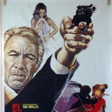 Cine: EL DON HA MUERTO. ANTHONNY QUINN. CARTEL ORIGINAL 1974. 70X100. Lote 107368519
