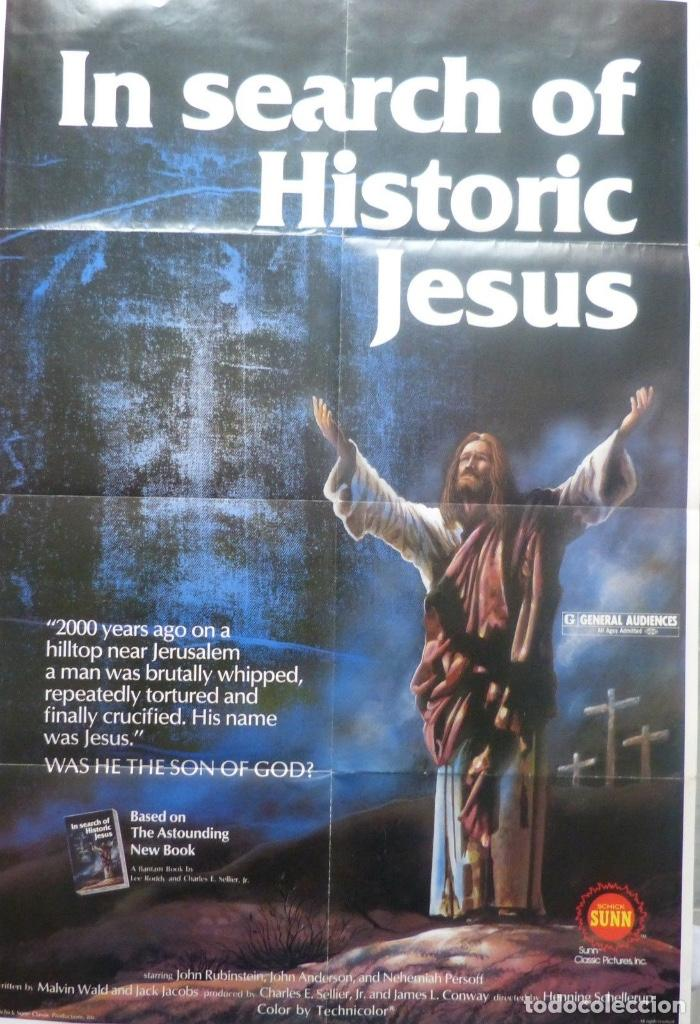 IN SEARCH OF HISTORIC JESUS MOVIE POSTER/1979/ONE SHEET (Cine - Posters y Carteles - Documentales)