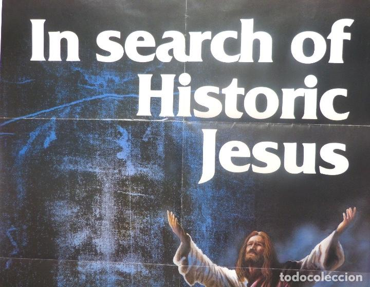 Cine: In search of historic Jesus movie poster/1979/One sheet - Foto 2 - 107690863