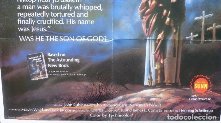 Cine: In search of historic Jesus movie poster/1979/One sheet - Foto 4 - 107690863