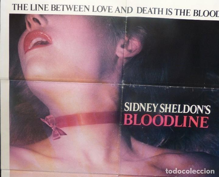 Cine: Bloodline/Sidney Sheldon´s/Audrey Hepburn/One sheet/1979 - Foto 3 - 107691599
