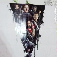 Cine: POSTER DOBLE PLEGABLE: ROGUE ONE A STAR WARS STORY - DIRK GENTLYS NETFLIX. Lote 107905739