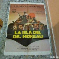 Cine: POSTER LA ISLA DEL DR. MOREAU. Lote 107922851