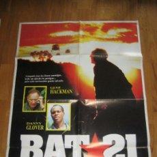 Cine: BAT 21, GENE HACKMAN, DANNY GLOVER, PETER MARKLE. Lote 108226419