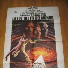 Cine: LA LUZ DE FIN DEL MUNDO, JULIO VERNE, KIRK DOUGLAS, YUL BRYNNER, SAMANTHA EGGAR, MASSIMO RANIERI. Lote 108234511