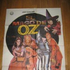 Cine: EL MAGO DE OZ, JUDY GARLAND, VICTOR FLEMING, RAY BOLGER, BERT LAHR, JACK HALEY, MUSICAL. Lote 228085070