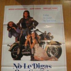 Cine: NO LE DIGAS QUE SOY YO, STEVE GUTTENBERG, JAMI GERTZ, SHELLEY LONG, MALCOM MOWBRAY. Lote 108247167