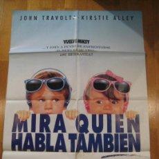 Cine: MIRA QUIEN HABLA TAMBIEN, JOHN TRAVOLTA, KIRSTIE ALLEY, AMY HECKERLING. Lote 108247787