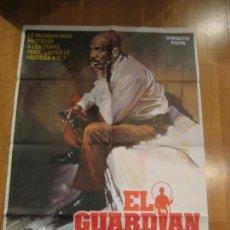 Cine: EL GUARDIÁN, DAVID GREEN, RICHARD LEVINSON, WILLIAM LINK. Lote 108259311