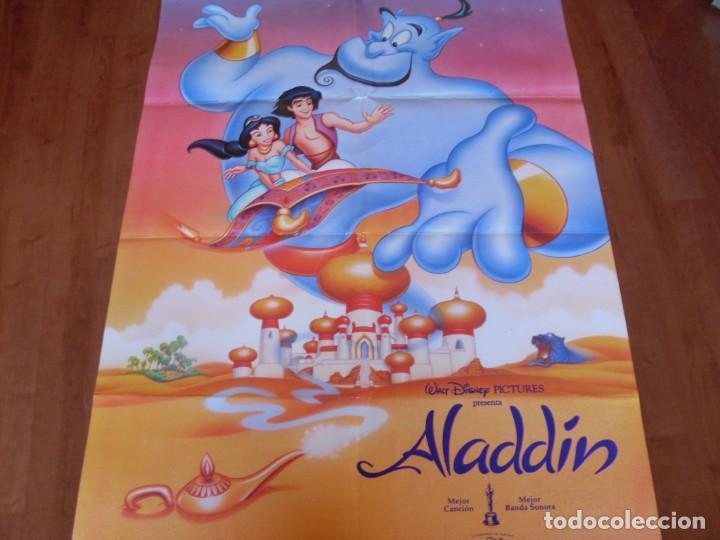 ALADDIN - ANIMACION - POSTER DE WALT DISNEY (Cine - Posters y Carteles - Infantil)