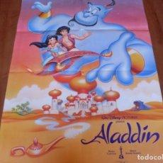 Cine: ALADDIN - ANIMACION - POSTER DE WALT DISNEY. Lote 108454395