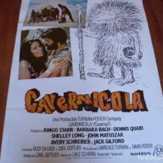 Cine: CAVERNICOLA - RINGO STARR, DENNIS QUAID, BARBARA BACH, SHELLEY LONG - AÑO 1981. Lote 108455539