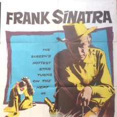 Cine: JOHNNY CONCHO MOVIE POSTER/ONE SHEET/1956/UNITED ARTIST CORPORATION. Lote 108589163