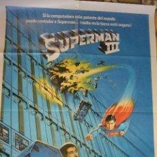 Cine: POSTER CARTEL CINE SUPERMAN III. Lote 108609211