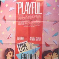 Cine: LOVE ON THE GROUND MOVIE POSTER /1984/ONE SHEET/SPECTRA FILM DISTRIBUTION. Lote 108648891
