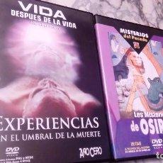 Cine: LOTE 2 DVD MISTERIOS. Lote 108705215
